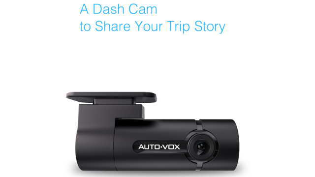A Dash Cam to Share Your Trip Story