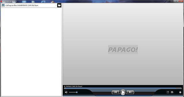 PAPAGO CAM ON Player