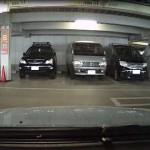 駐車中の録画映像