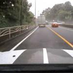車線逸脱警報システムのイメージ