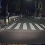 DrivePro220の映像(夜間)