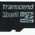 トランセンドDrivePro220非推奨32GB