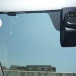 ドライブレコーダーを取り付ける位置の確認