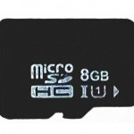 CA-XDR51D(ドラレコ)に付属のmicroSDHCメモリーカード
