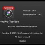 DrivePro Toolboxmの最新バージョン