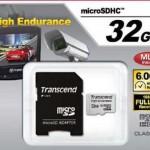 ドライブレコーダーと相性のよいmicroSDカード