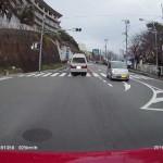 交差点での事故を想定した映像