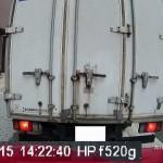 f520g 駐車中録画の映像