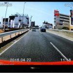 CA-XDR51Dのファイルを家庭用TVで再生中の画面