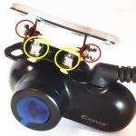 GoSafe S36GS1(型番:GSS36GS1-32G) リアカメラ